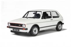 Ottomobile Volkswagen Golf 1 GTI 1600 1975 Polar white G024