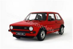 Ottomobile Volkswagen Golf 1 GTI red G013