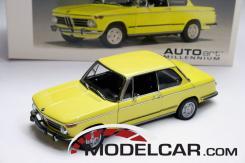 Autoart BMW 2002 Tii Yellow