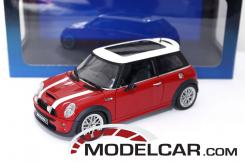 Autoart Mini Cooper S R53 Red