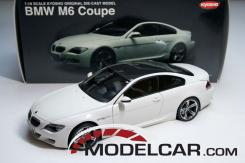 Kyosho BMW M6 coupe e63 White