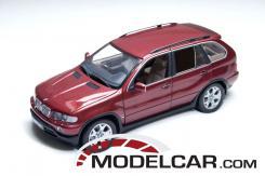 Kyosho BMW X5 4.4i e53 red metallic 08521R