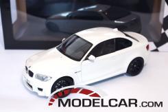 Minichamps BMW 1M coupe e82 Wit
