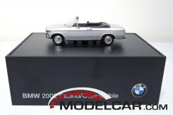 Minichamps BMW 2002 convertible Silver