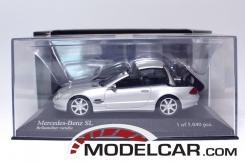 Minichamps Mercedes SL500 W230 Silver