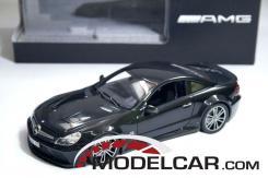 Minichamps Mercedes-Benz SL65 AMG R230 Black Series Obsidian Black Metallic dealer edition