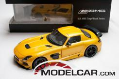 Minichamps Mercedes SLS AMG Yellow