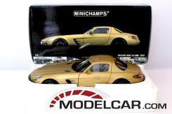 Minichamps Mercedes SLS AMG Gold