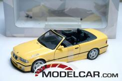 UT models BMW M3 convertible e36 Yellow
