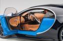 Autoart Bugatti Chiron Blue